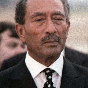 Egyptian President Anwar Sadat - Public Domain