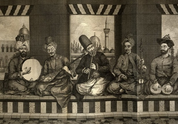 Musicians in Aleppo, 18th century.