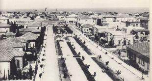Rothschild Boulevard in 1913