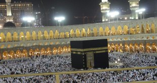 Al-Haram Mosque and the Kaaba in Mecca Photo:	Ariandra 03