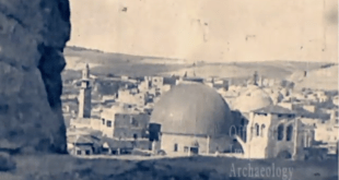 1920s, Palestine, a travelogue about Jerusalem and the Holy Land.