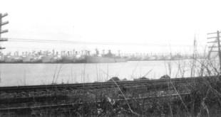 The Hudson River Reserve Fleet in the 1950s Photo: Manuel Aldea