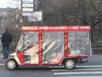 """В Казимеж можно поехать и на таком экскурсионном """"транспорте"""""""