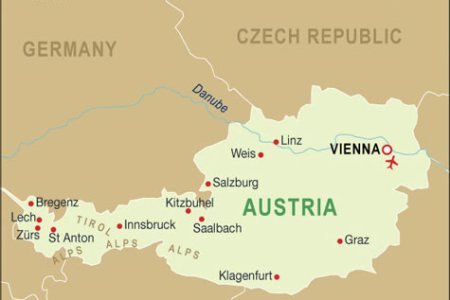 map of austria with cities if you like the image or like this post please contribute with us to share this post to your social media or save this post