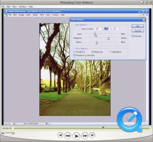 Photoshop Color Balance screencast