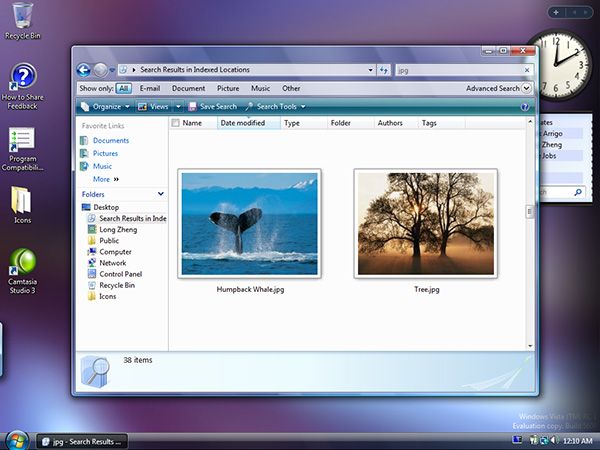 Search and Windows Explorer