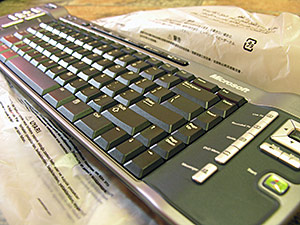 Velocity Micro Media Center PC keyboard