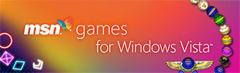 MSN Games for Windows Vista