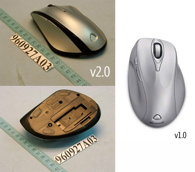 Wireless Laser Mouse 6000 v2.0 comparison