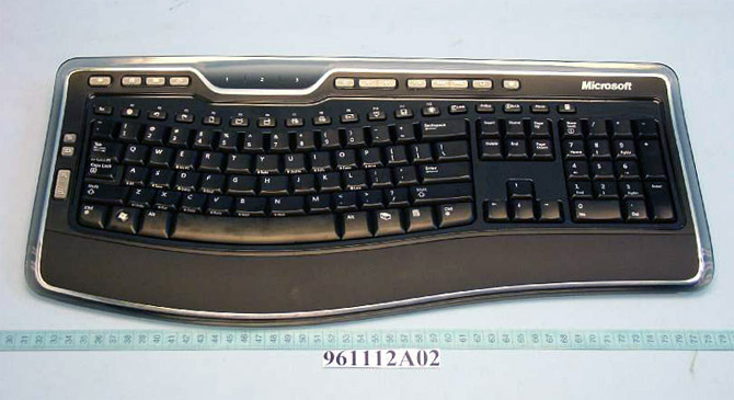 Microsoft Wireless Laser Keyboard 7000