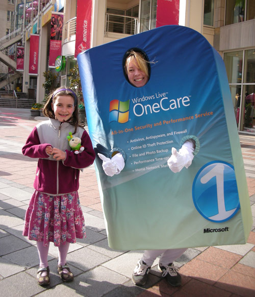 Windows Live OneCare advertising suit