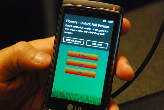 Windows Phone 7 Marketplace trial app