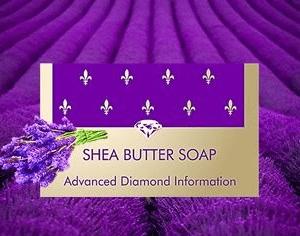 Shea butter soap levandula
