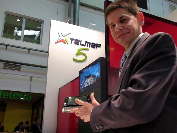 Telemaps Fin&Go-Navilösung für MIDs sorgte auf dem MWC'09 für Aufsehen