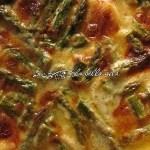 Italian Asparagus and Potato Gratin in Six Cheese Sauce