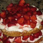 Strawberry (Fragole) Shortcake with Marsala