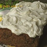 Cinnamony Zucchini Cake with Creamy Cream Cheese Frosting