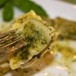 Wild Mushroom Agnolotti in Basil Pesto Butter