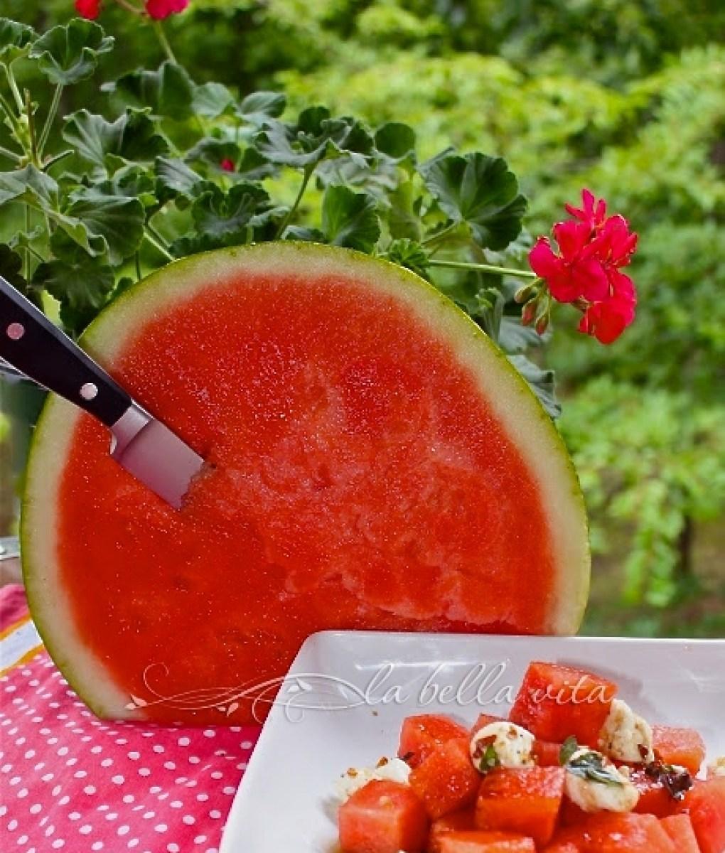 Fresh Watermelon Salad