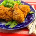 Superb Spicy Fried Buttermilk-Garlic Chicken