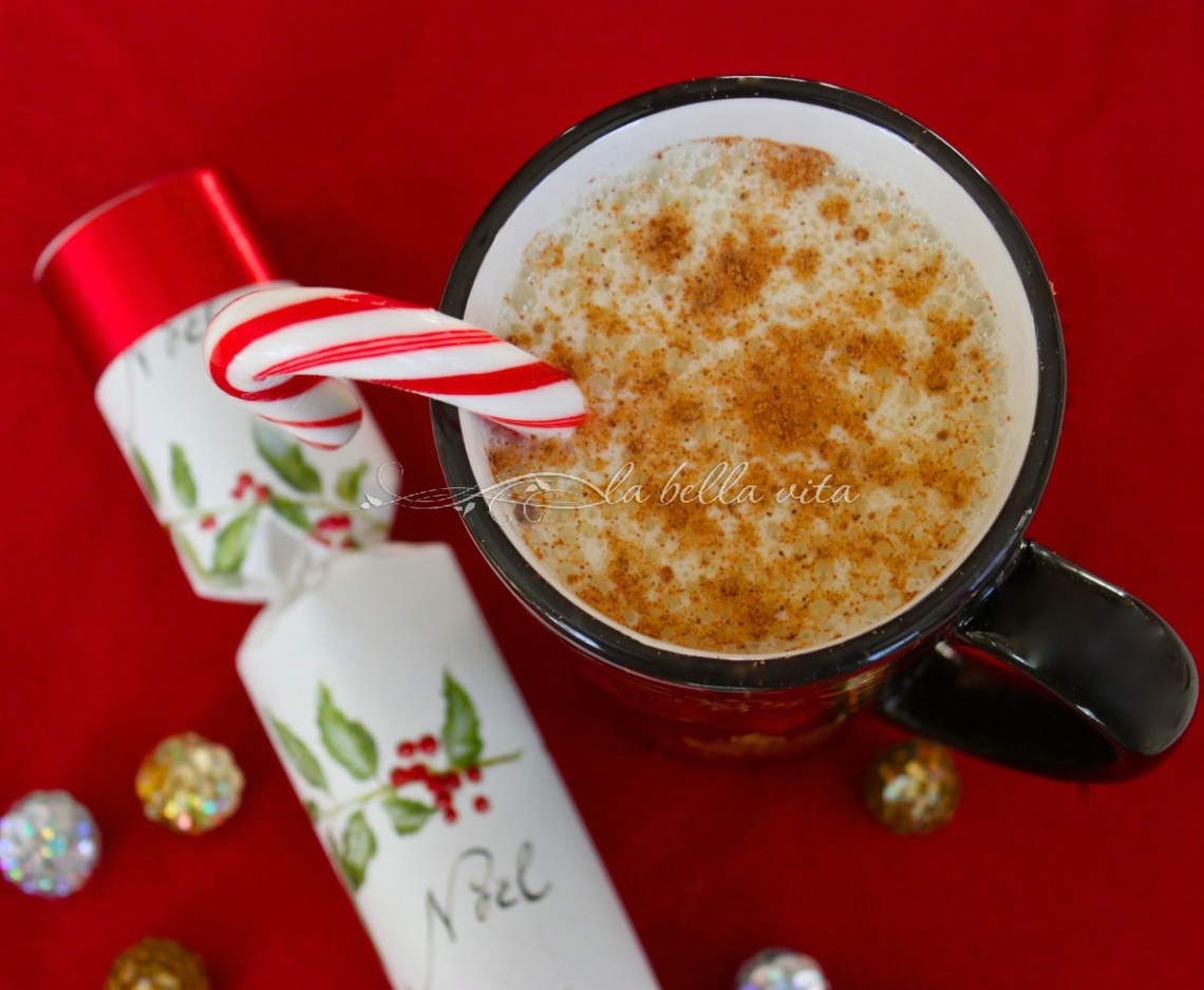 The BEST Creamy, Loaded Egg Nog