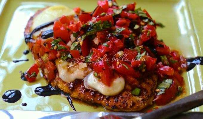 Skinny Italian Bruschetta Chicken