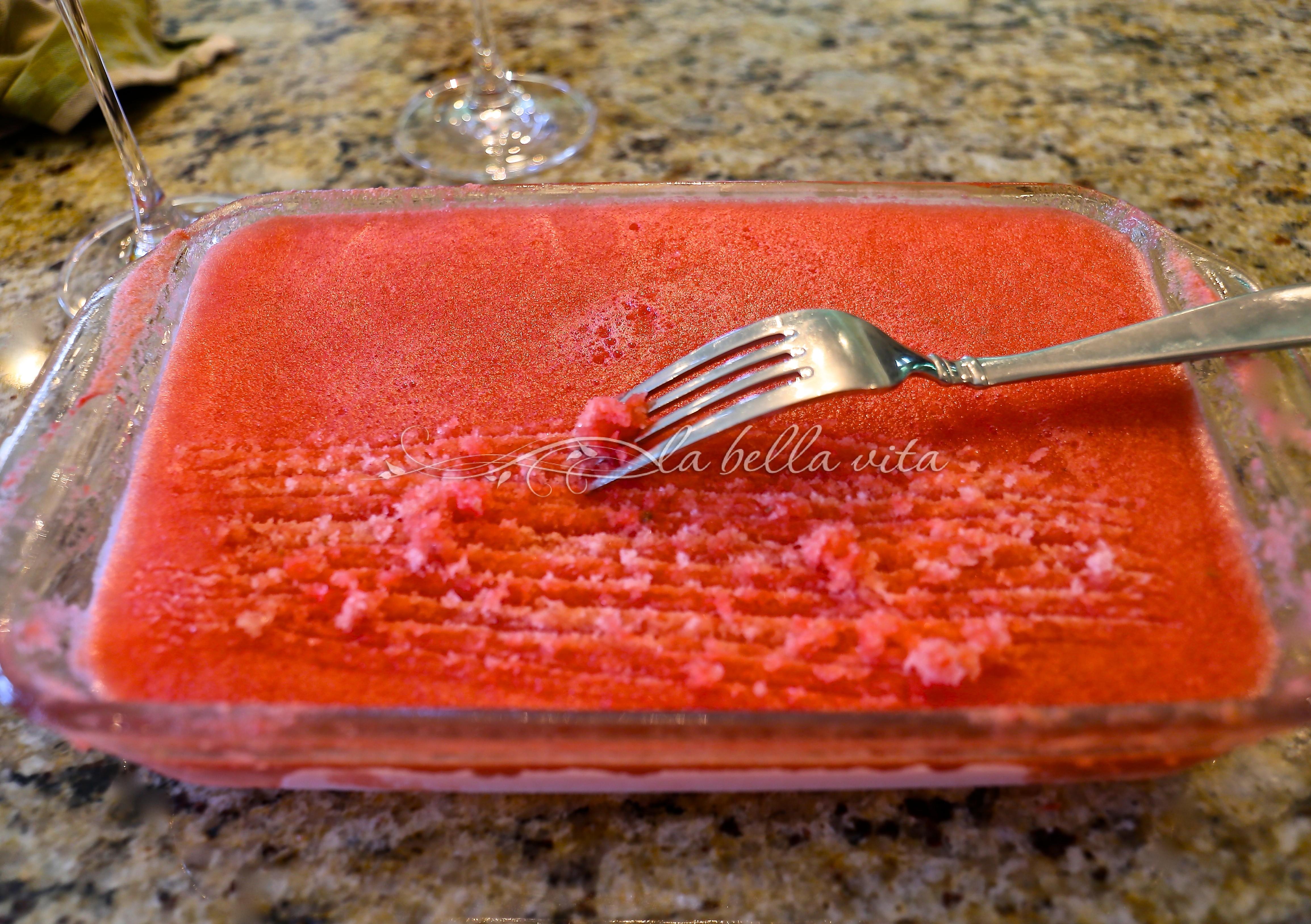 Watermelon Granita Italian Ice An Authentic Recipe From Amalfi