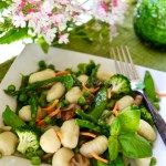 Gnocchi Primavera with Spring Asparagus and Peas