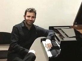 Il pianista Giulio Potenza all'ICI