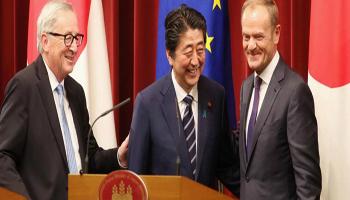 Giappone-Ue  accordo di libero scambio