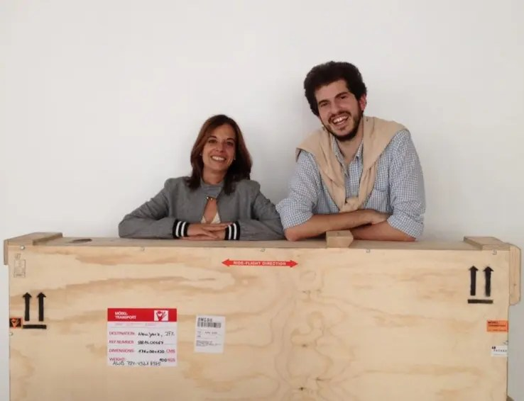 Chiara Fabi and Francesco Guzzetti, 2014 Fall Fellows