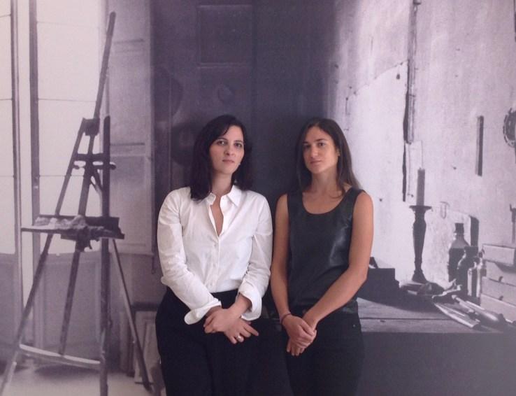 Lucia Piccioni and Matilde Guidelli-Guidi, 2015 Fall Fellows