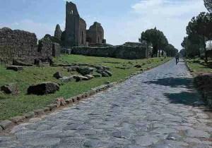 The Via Appia Antica in Rome