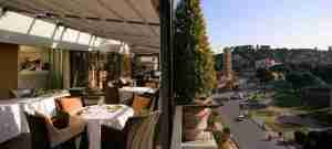 Rooftop Dining at Rome's Hotel 47