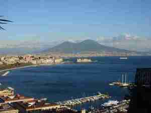 Naples with View of Vesuvius