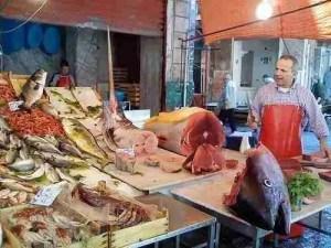 Vucciria Market in Palermo Sicily