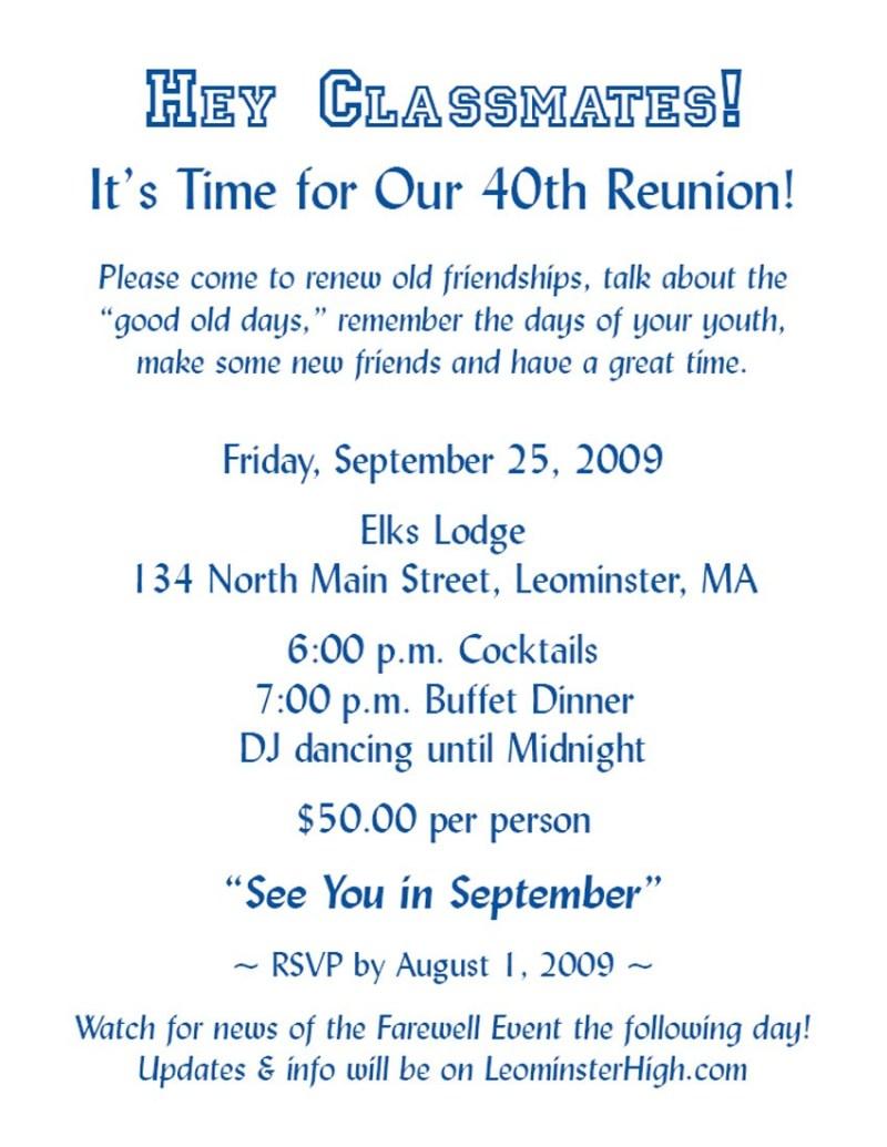 invitation for reunion of friends | Invitationswedd.org