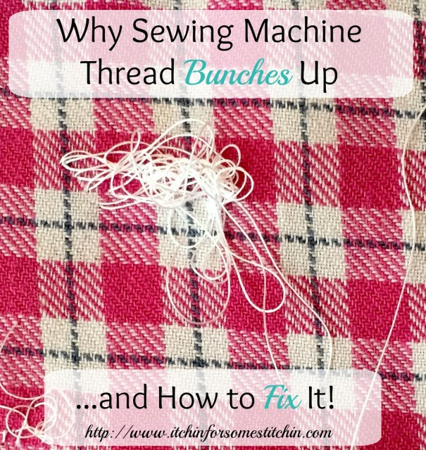 how to fix bird nesting on a sewing machine