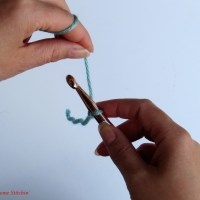 How to Crochet a Foundation Chain (chain stitch)