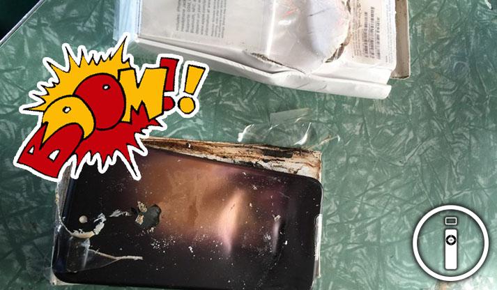 iPhone 7 esplode, la maledizione del numero 7 o Fake?