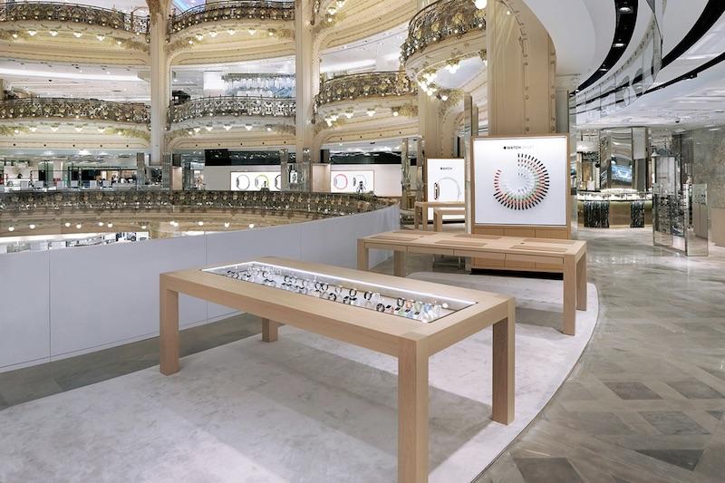 Apple chiude lo Shop @ Galeries Lafayette