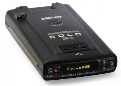 Escort SOLO S3 Cordless Radar Detector 1