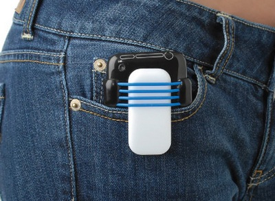Heracles AppKlip iPhone Clip is made in the USA using recycled plastics 2
