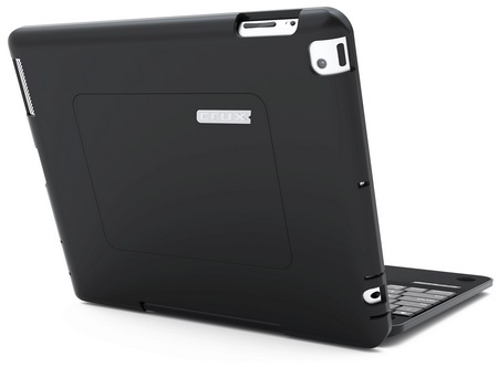 CruxCase Crux360 Keyboard Case for iPad 3 back