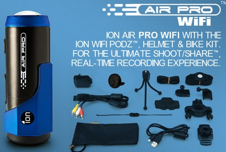 ION Air Pro WiFi Wearable HD Sports Video Camera items