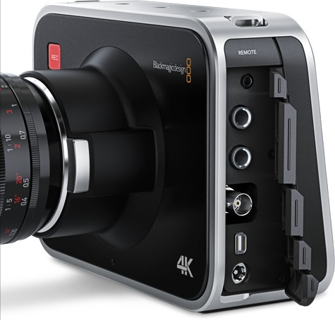 Blackmagic Production Camera 4K Digital Film Camera connections
