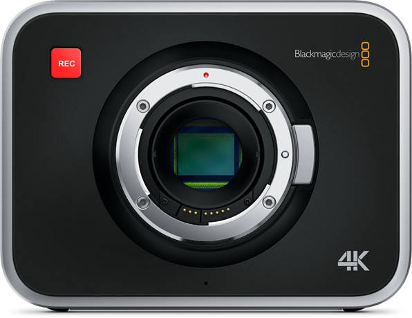 Blackmagic Production Camera 4K Digital Film Camera front