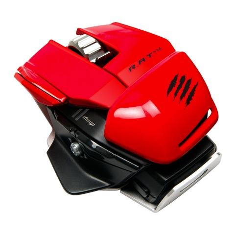 Mad Catz R.A.T.M Wireless Gaming Mouse red