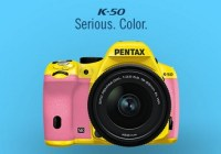 Pentax K-50 color choices