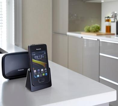Panasonic KX-PRX120 Cordless Home Phone runs Android 4.0 ICS with answering machine